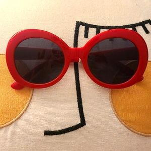 Urban Outfitters Red Sunglasses